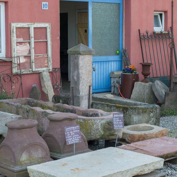 Impressionen Historische Baustoffe Müllheim