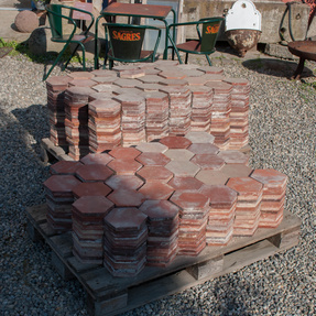 6-eck Terra Cotta 22m² Art.BT0022